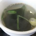一楽亭 - スープ