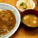 グリルおの - 料理写真:日替りランチ(水曜)  カツカレー \600