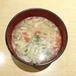 鮨 からく - 中華スープ???