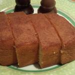 シミズ - 料理写真:ブランデーケーキ