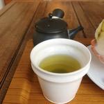 日本茶カフェ一日 - かなやみどり