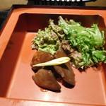 戦国武勇伝 - 【前菜】(下段) 筑波鶏の赤葡萄酒煮