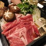 戦国武勇伝 - 【メイン】国産牛特製すき焼き