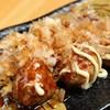 Akachouchin - 料理写真:※お好み焼き風ミートボールです