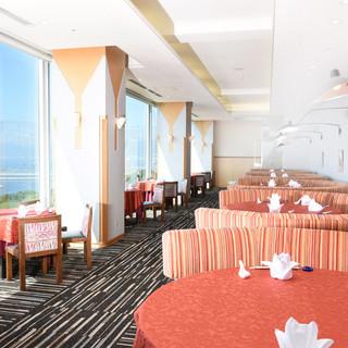 【ホテル21階】瀬戸内の海を眺めながら楽しむ本格広東料理
