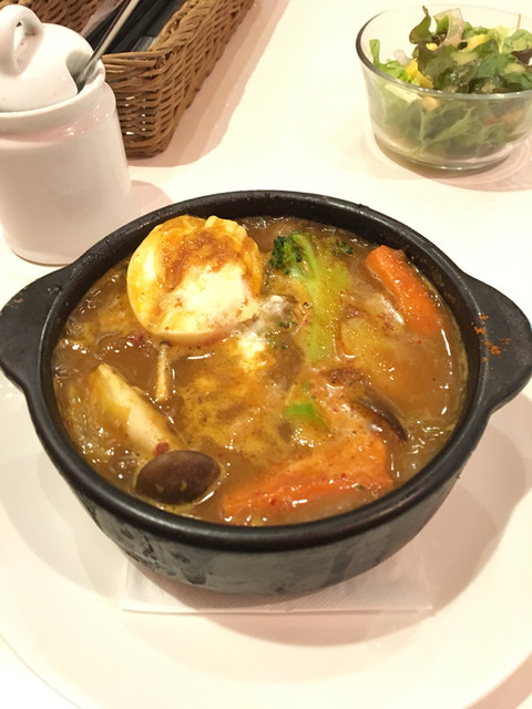 CAFE STRADA - 豚角煮スープカレー