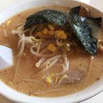 手打ちラーメン 本丸 - 味噌チャーシュー麺