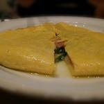 60590210 - オムレツ ホウレンソウ ベーコン チーズ