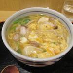 うどん和匠 - 鶏ときのこのあんかけとじうどん780円