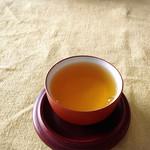 可笑的花 - おまけで出していただいた中国茶