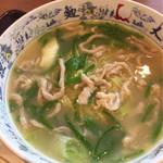 中国大明火鍋城 木の葉キッチン - チンジャオロース麺