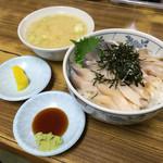 マルトマ食堂 - マルトマ食堂(北海道苫小牧市汐見町)生ホッキ丼 800円