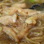 大枡 - とりソバの鶏肉