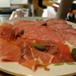 ポンペット - ハモン・セラーノ&サラミ