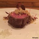 Ristorante SHIKAZAWA - 仔羊のロース肉