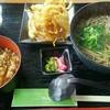 レストラン マーガレット - 料理写真:地野菜のかき揚げそばセット840円(税込)