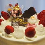 ハレルヤ - 料理写真:定番クリスマスケーキ