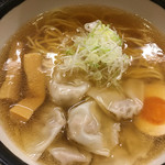 肉そば家 笑梟 - 再訪日:2016.12.26       ワンタン麺