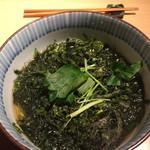 蕎麦前 小まつ - 海苔かけ蕎麦