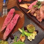 60607649 - 熟成肉の競演「鴨胸肉/アンガス牛/山形豚/自家製ソーセージ」