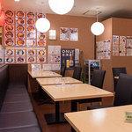 海鮮丼の浦島 - 16~18席ほどの小さなお店です。