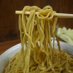 ラーメン二郎 - マジシブのちょいズルオーション麺(2016年12月20日)
