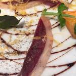 スタジオーネ フルッティフィカーレ - 燻製の鴨と次郎柿