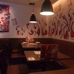 ハバネロ居酒屋 BOKUN - 店内は明るく楽しい雰囲気でしたよ!