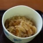アンバー - 朝定食(切り干し大根・アップ)