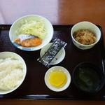 アンバー - 朝定食
