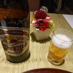 瀬戸の花 - 「お疲れさまでした」のビール 2016.12