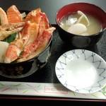60610884 - 12月28日昼 カニステーキ丼