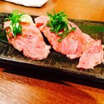 個室と黒毛和牛割烹 和み家 - nagomiya:肉寿司