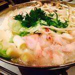 赤羽 和牛と地酒 和み家 - nagomiya:牛もつ鍋