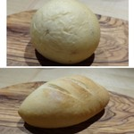 TTOAHISU - ◆パンは2種類。「牛乳を使用し桜の葉の塩漬けが入った柔らかいパン」と「米粉試使用した梅干し入りのパン」