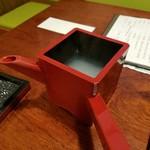 栄ごん - 料理写真:蕎麦湯