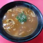 ラーメンきらく - 料理写真:カレーラーメン