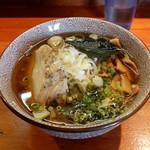 麺や  虎ノ道 - あご煮干(蒸し鶏) H28.12