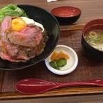60614693 - ローストビーフ丼(税込1080円)