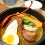 N's cafe RS - カレーラーメン