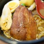 N's cafe RS - 鶏チャ、ベーコン