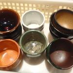 日本酒庵 吟の邑  - 熱燗用のおちょこ