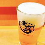 大ざわ - 生ビールでぷはぁ~