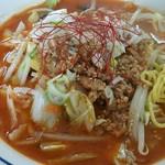 ふぁみりぃ佐藤軒 - 辛口野菜味噌ラーメン
