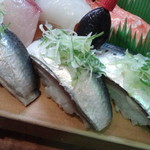 鮨処四季 - いわし寿司(4貫)