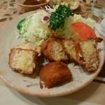 ニューコトブキ - 料理写真:ヒレカツ定食