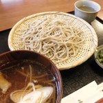 6062549 - 地鶏そば(つけ麺風) 1,000円(2010.12)