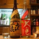 日本酒庵 吟の邑  - 琵琶のさざ浪&大倉・日本酒飲み放題