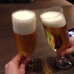 JIS MATSUYAMA - グラスビール(プレモル)