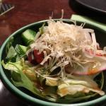 60624145 - サラダ☆とびっこが入っててかなりお気に入りのサラダです(^_^)